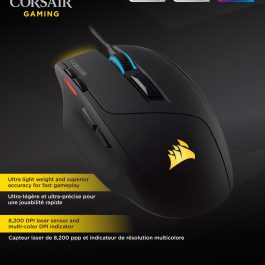 Corsair Sabre Laser RGB Gaming Mouse