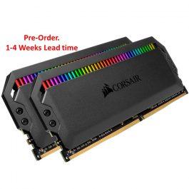 CORSAIR DOMINATOR PLATINUM RGB 16GB (8GB*2) 3200MHz DDR4 MEMORY